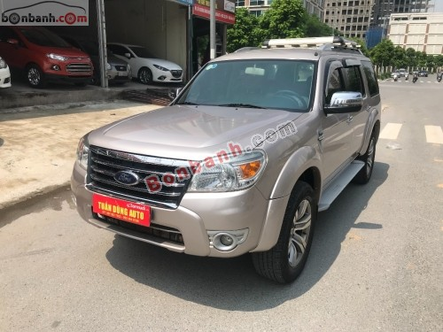 Ford Everest 2.5L 4x2 AT - 2012