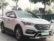 Bán xe Hyundai SantaFe 2.2L 4WD 2017 giá 1 Tỷ 180 Triệu - Hà Nội