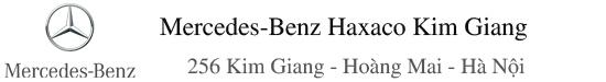 Mercedes-Benz Haxaco Kim Giang - Đại lý phân phối chính thức của Mercedes Benz tại Việt Nam