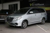 Bán xe Toyota Innova 2.0E 2015 giá 606 Triệu - TP HCM