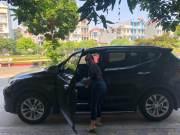 Bán xe Hyundai SantaFe 2.2L 2017 giá 1 Tỷ 30 Triệu - Quảng Ninh